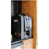 máquinas de café expresso com moeda Santo André