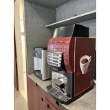 máquinas de café expresso empresa Anália Franco