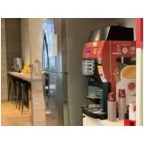 máquinas de café expresso para comércio Chácara São Vicente
