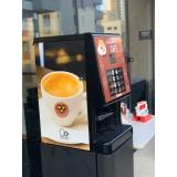 máquinas de café industriais para empresa Água Branca