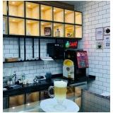 máquinas profissionais de café Vila Carlito