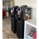 onde faço locação de máquina de café para empresas Centro