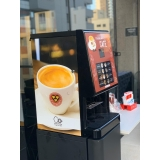 onde faço locação de máquina de café Jardim Monte Cristo/Parque Oziel