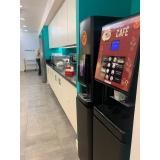 onde faço locação máquina de café para empresas Jardim Universo
