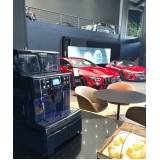três corações máquinas de café Santa Cruz
