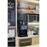 valor de aluguel de máquina de café expresso Santo Amaro