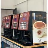 valor de máquina de café expresso para alugar Jardim Três José