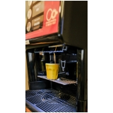 vending machine de bebida cremosa Jardim Osvaldo Cruz