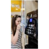 vending machine de bebida quente Jardim Botânico