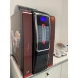 vending machine para escritório locação Leme