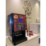 vending machine de bebidas cremosas três corações