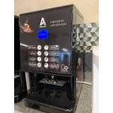 vending machine de bebidas cremosas