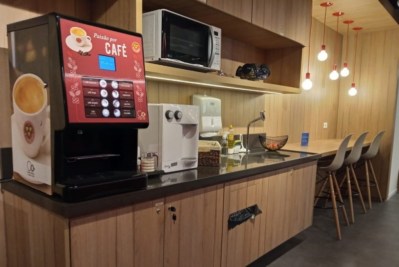 Vending Machine de Bebidas Quentes - Connect Vending